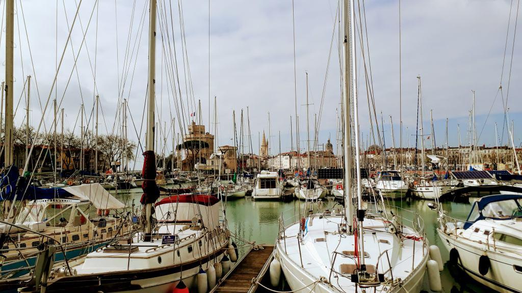La Rochelle, Der alte Hafen (Le Vieux Port)