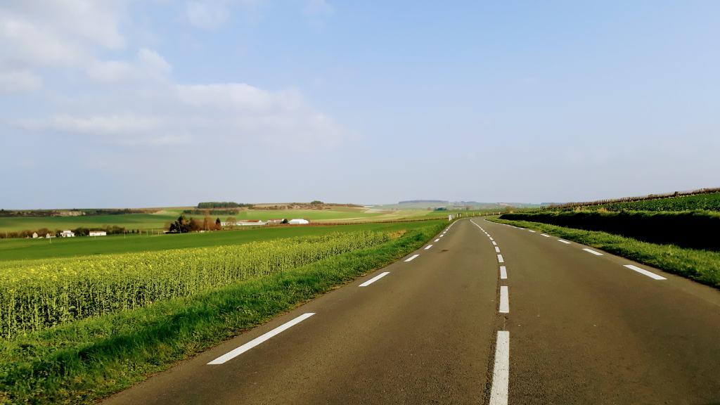 Fahrt nach Bordeaux über Pons