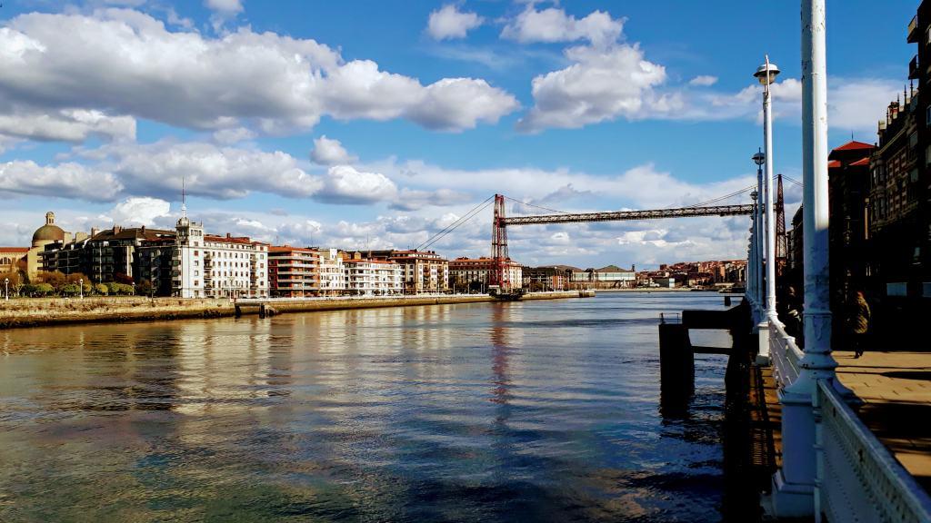 Puente de Vizcaya in Bilbao