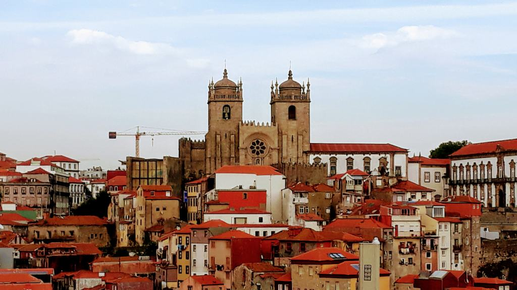 Blick vom Miradouro da Vitoria