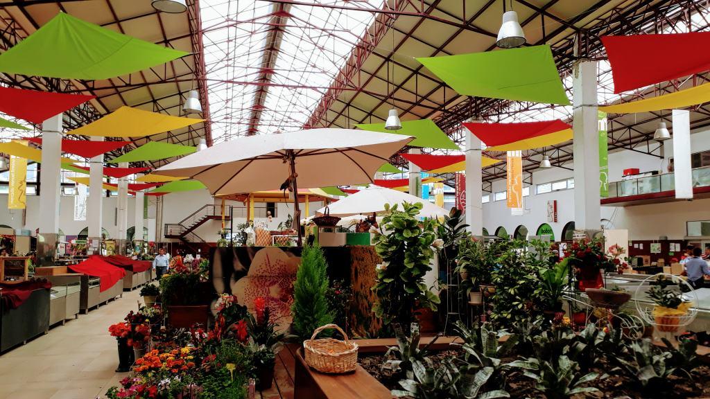 Markthalle Mercado Manuel Firmino