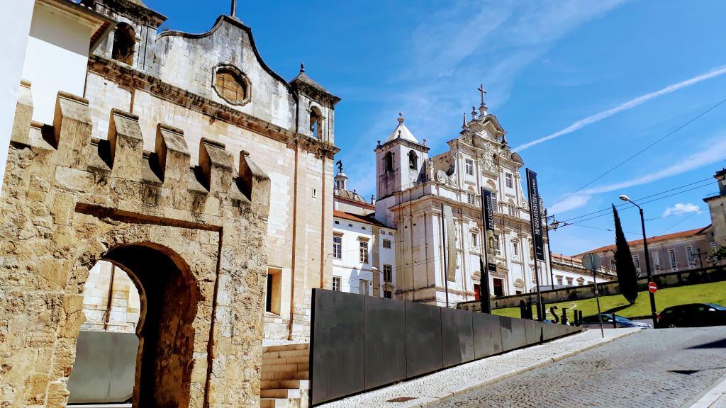 Museu Nacional Machado De Castro und Sé Nova de Coimbra