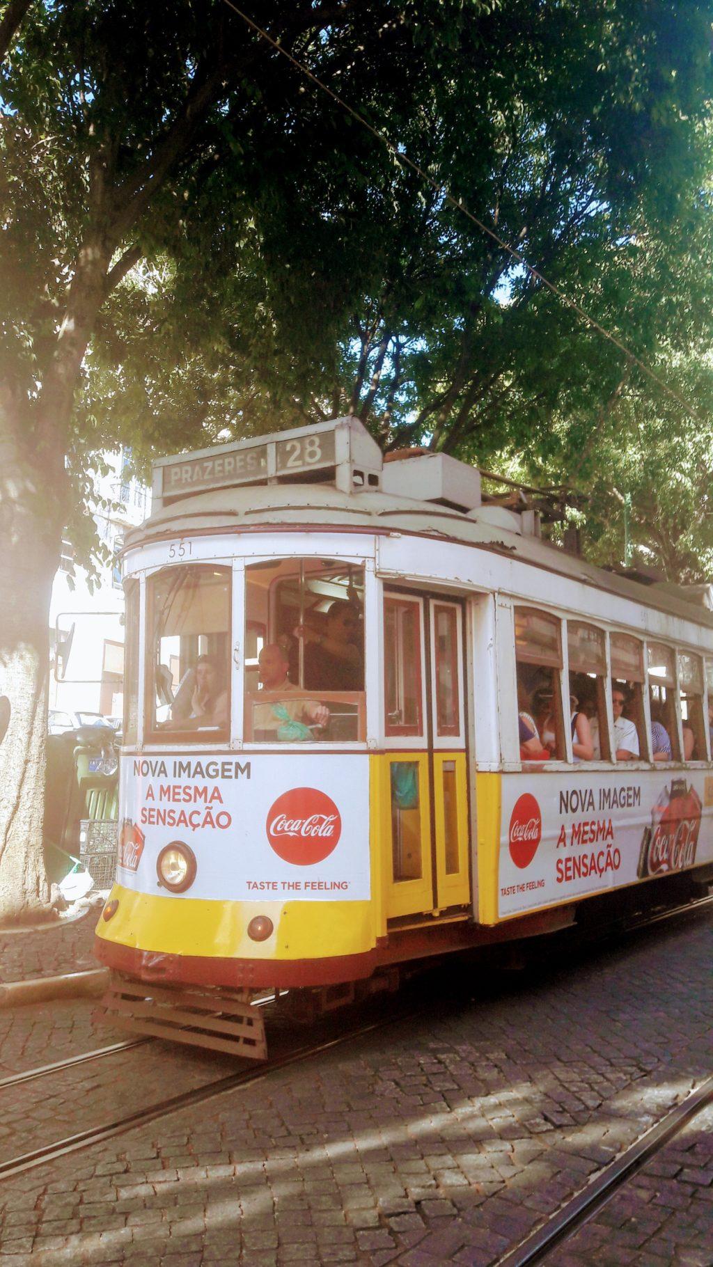 Lissabon per Straßenbahnlinie 28E