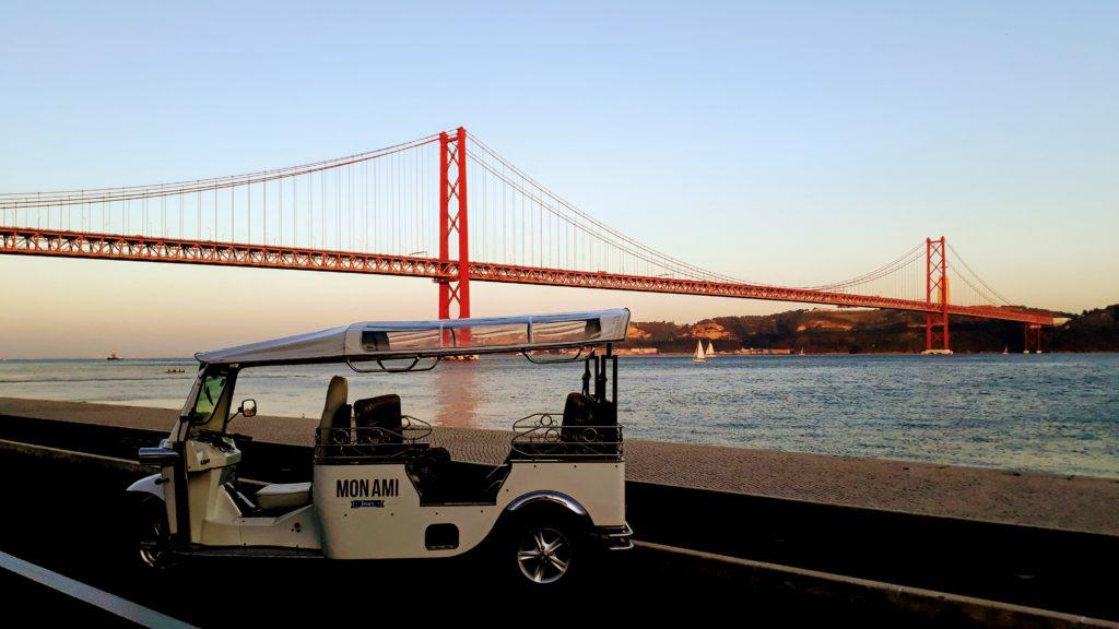 Lissabon per Tuk-Tuk & Segway