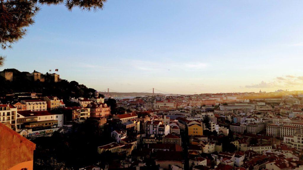Blick vom Miradouro da Graça
