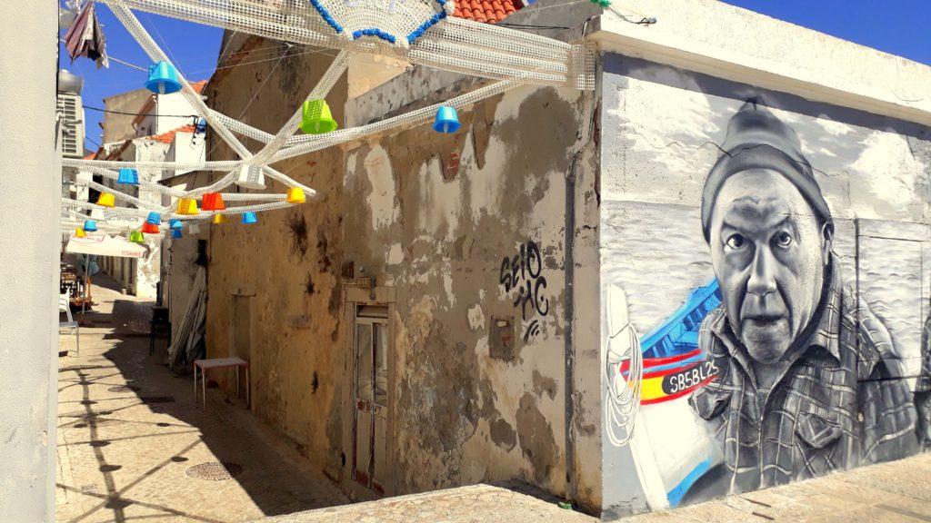 Streetart in Sesimbra