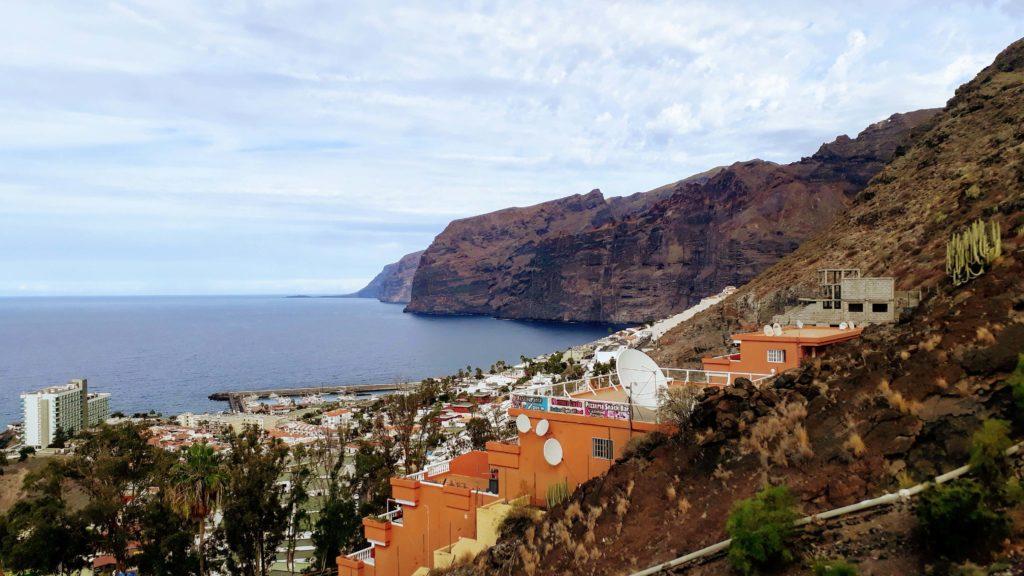 Steilküste Acantilados de los Gigantes