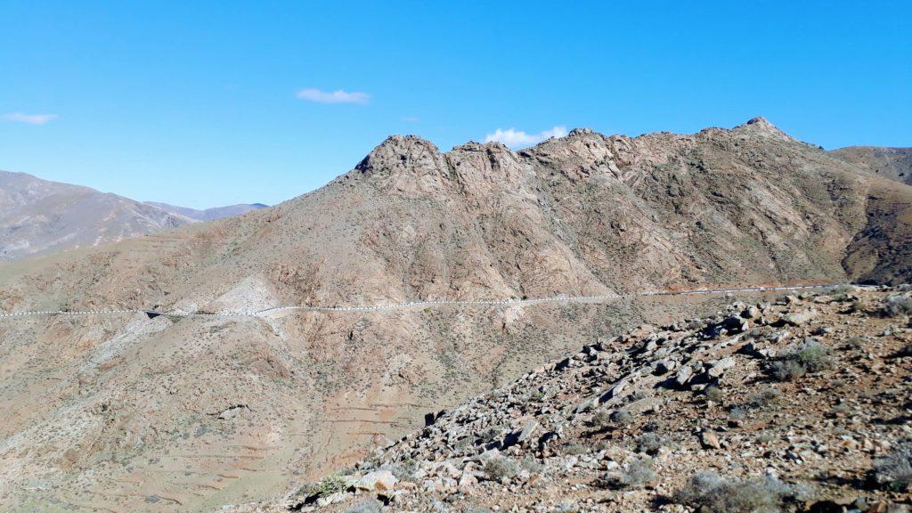 Weg zum Mirador de Las Peñitas