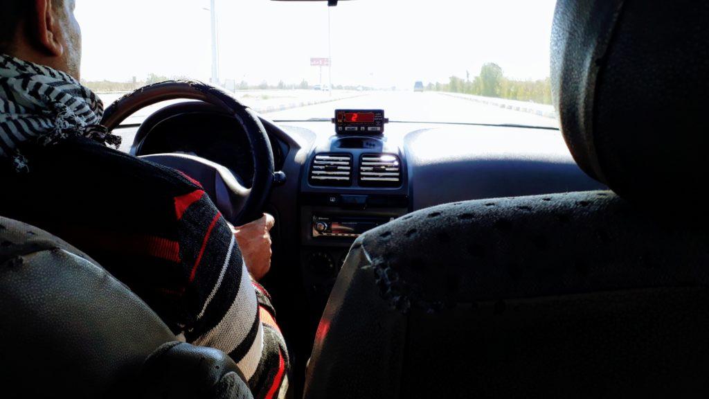 Taxifahren in Ägypten