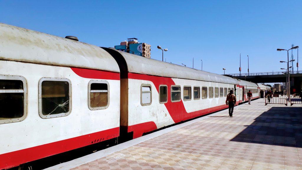 Zug in Ägypten