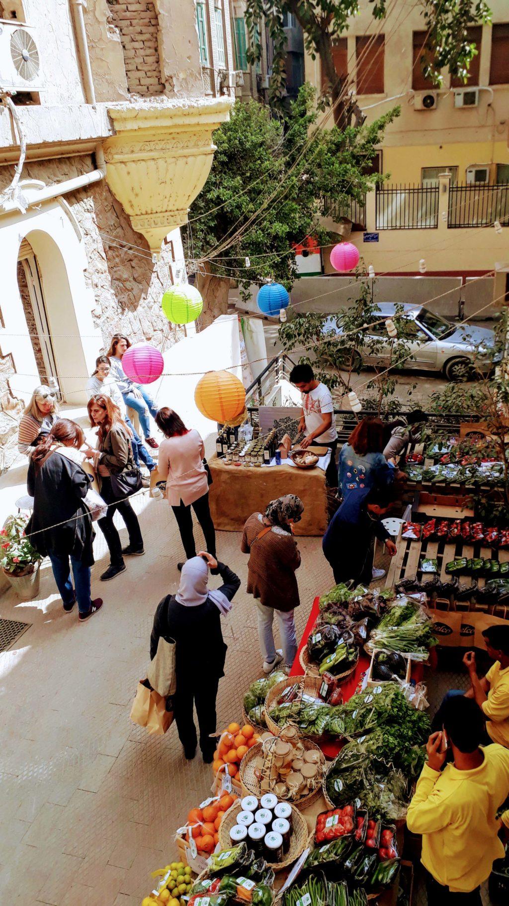 Pop-Up Market inZamalek (jeden Samstag und Sonntag)