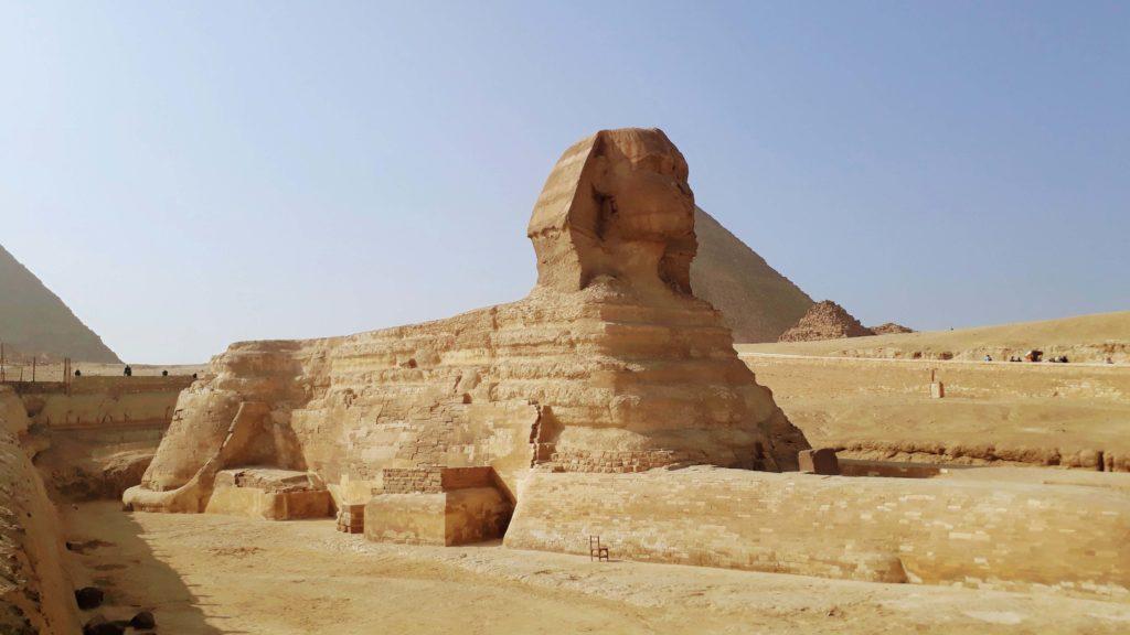 Große Sphinx in Gizeh