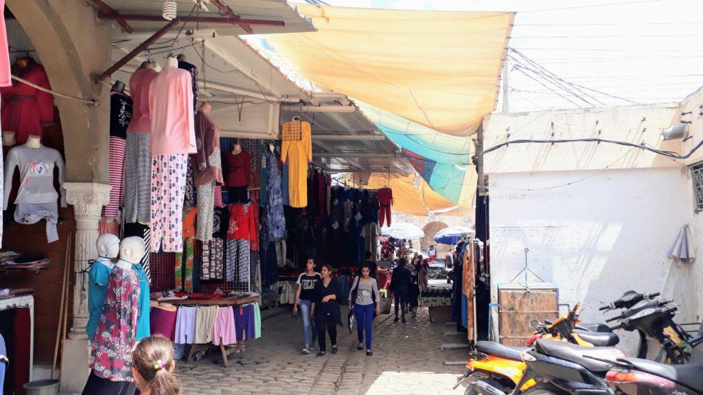 Souk (arabischer Markt) in der Altstadt von Sousse