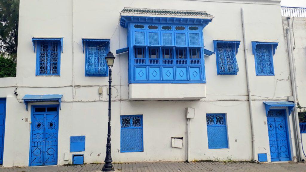 Hier ist alles blau-weiß: das Dorf Sidi Bou Saïd