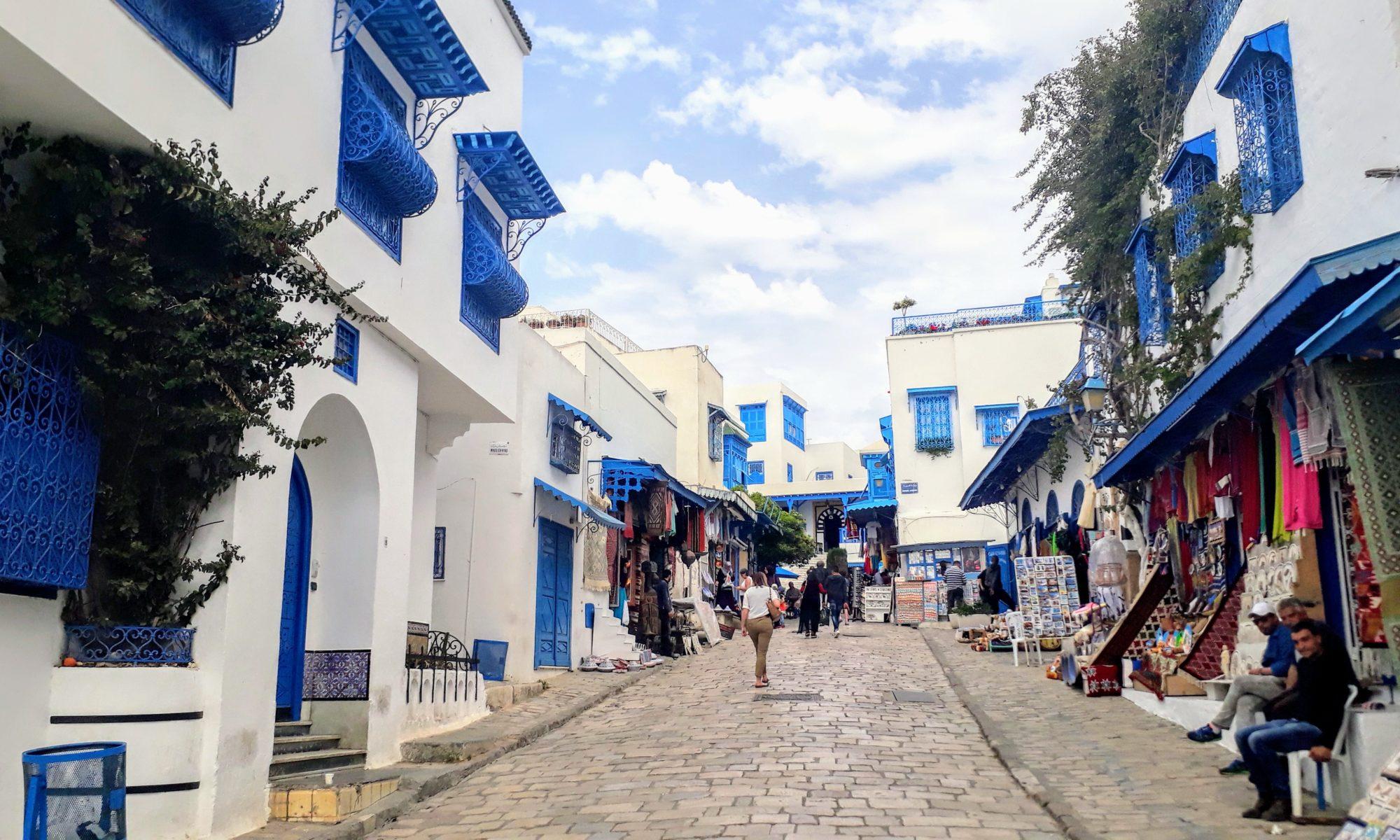Sidi Bou Saïd: Blau-Weiße Perle am Mittelmeer