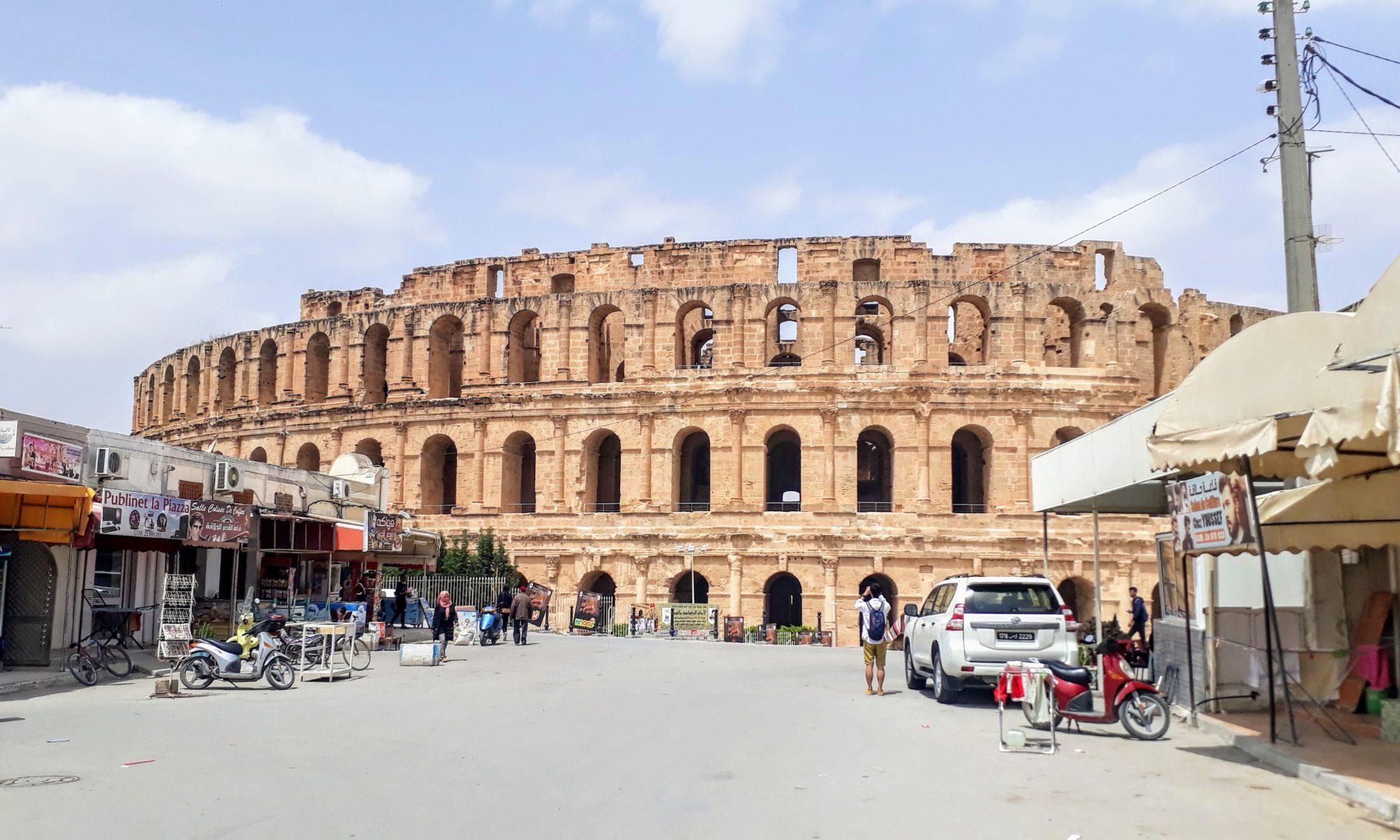 El Djem: Drittgrößtes Amphitheater des Römischen Reiches