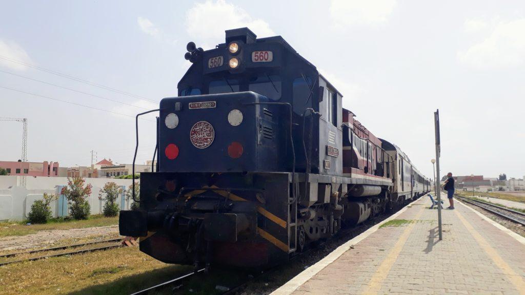 Zug in Tunesien