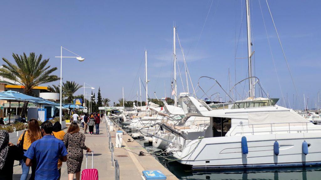 Yachthafen von Yasmine Hammamet