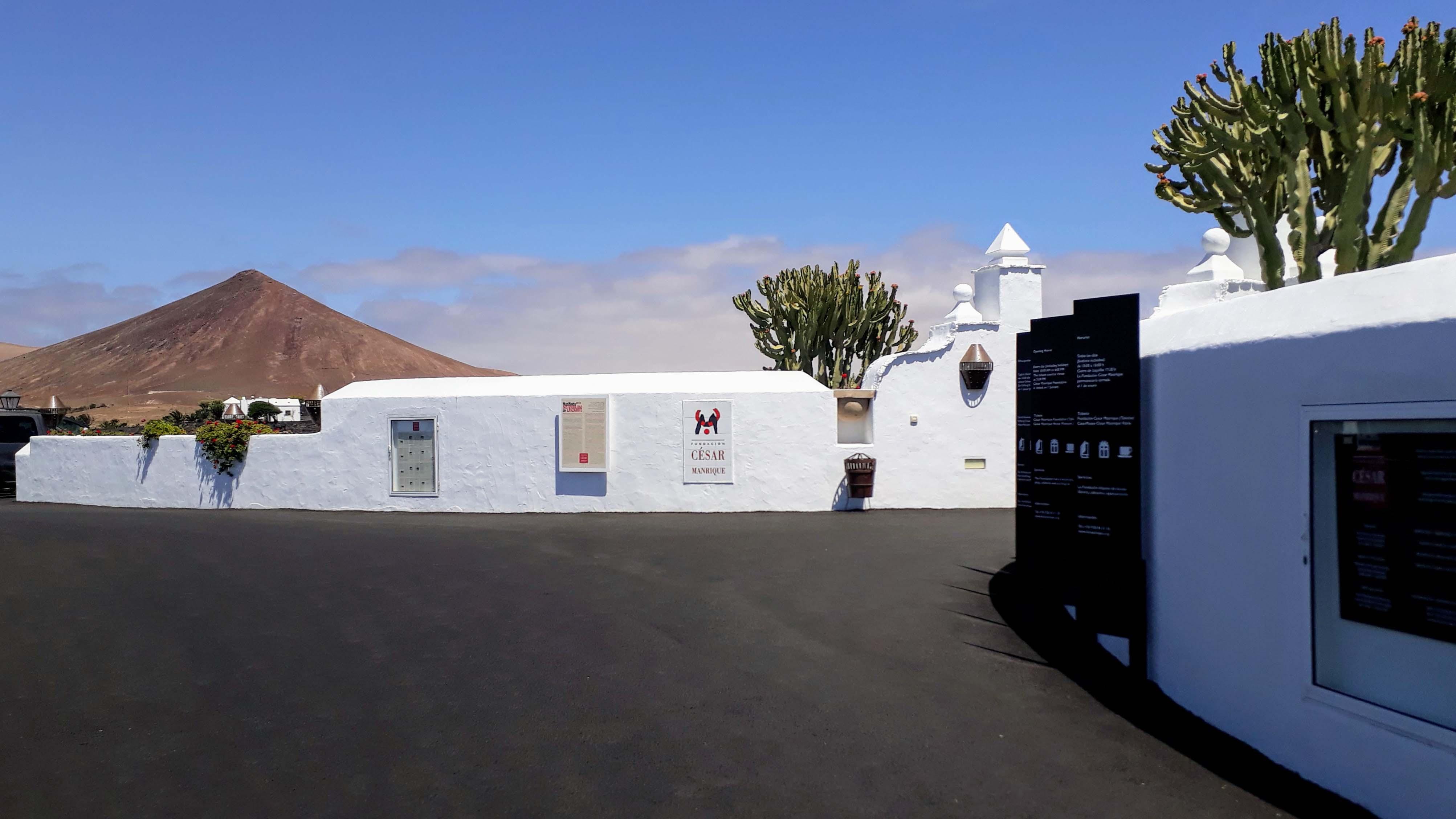 Eingang zur Fundación César Manrique