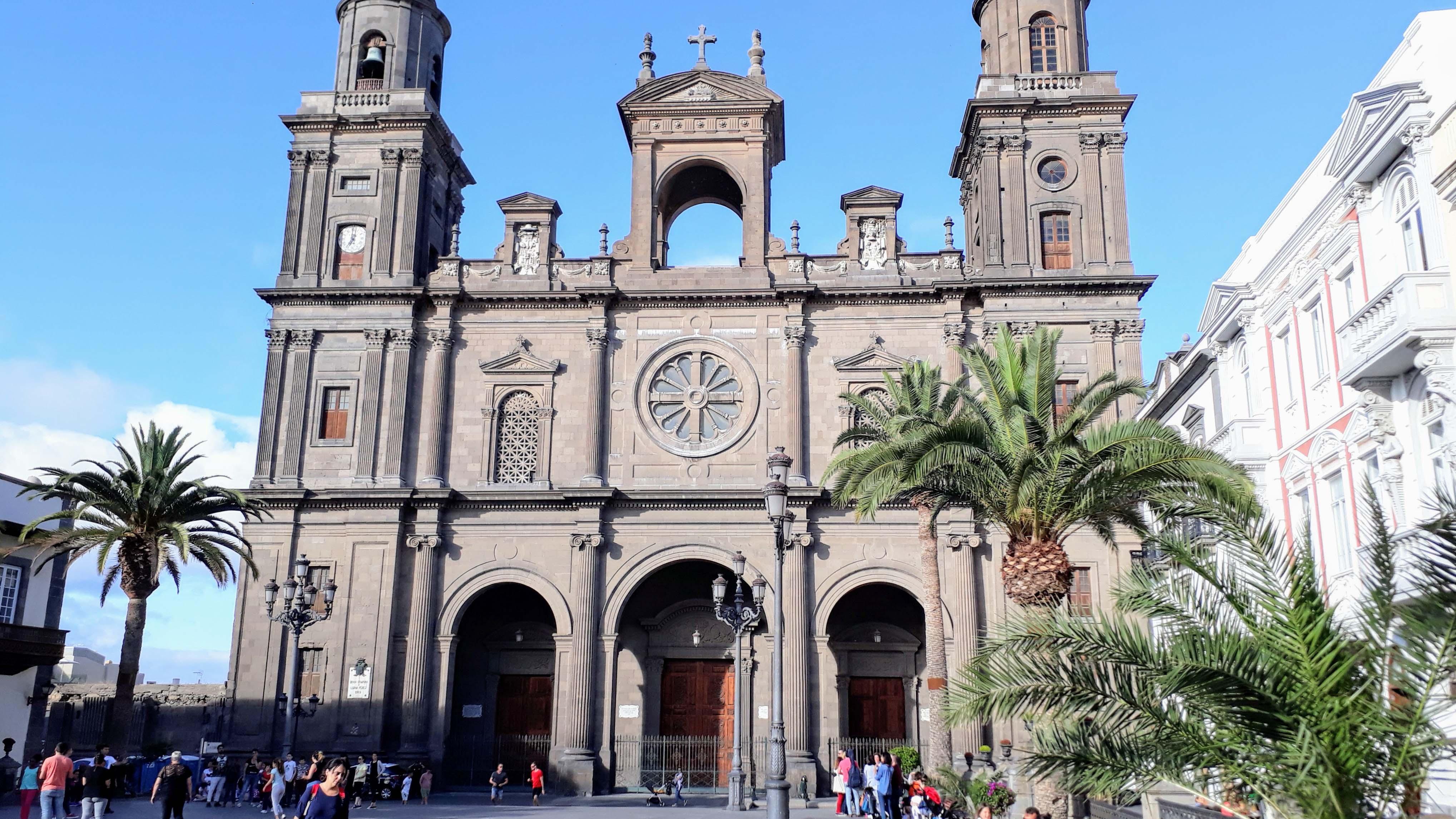 Santa Ana Kathedrale in Las Palmas de Gran Canaria