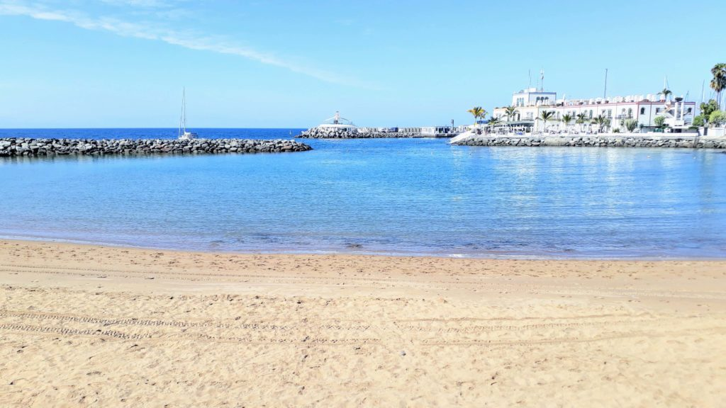 Strand von Puerto de Mogán