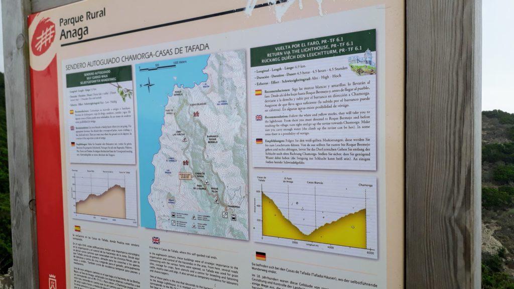 Wanderung von Chamorga zum Faro de Anaga
