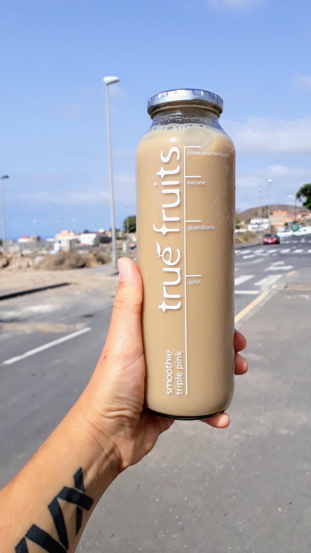 Mjam: Abgefüllter Kaffee kann auf einer anstrengenden Wanderung schon mal Körper und Geist erheitern