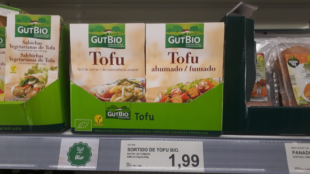 Tofu, geräuchert oder Natur