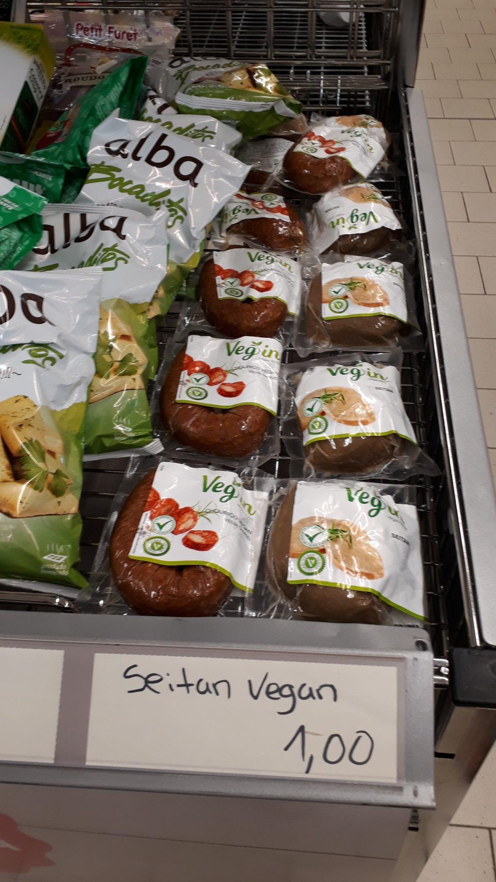 Vegane Chorizo (Paprika-Knoblauch-Wurst) von Veg In