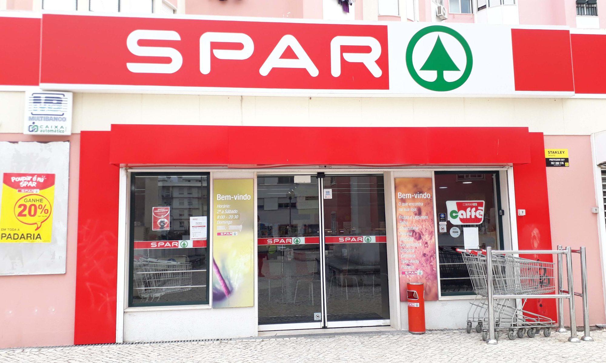 Vegane Produkte bei Spar in Portugal