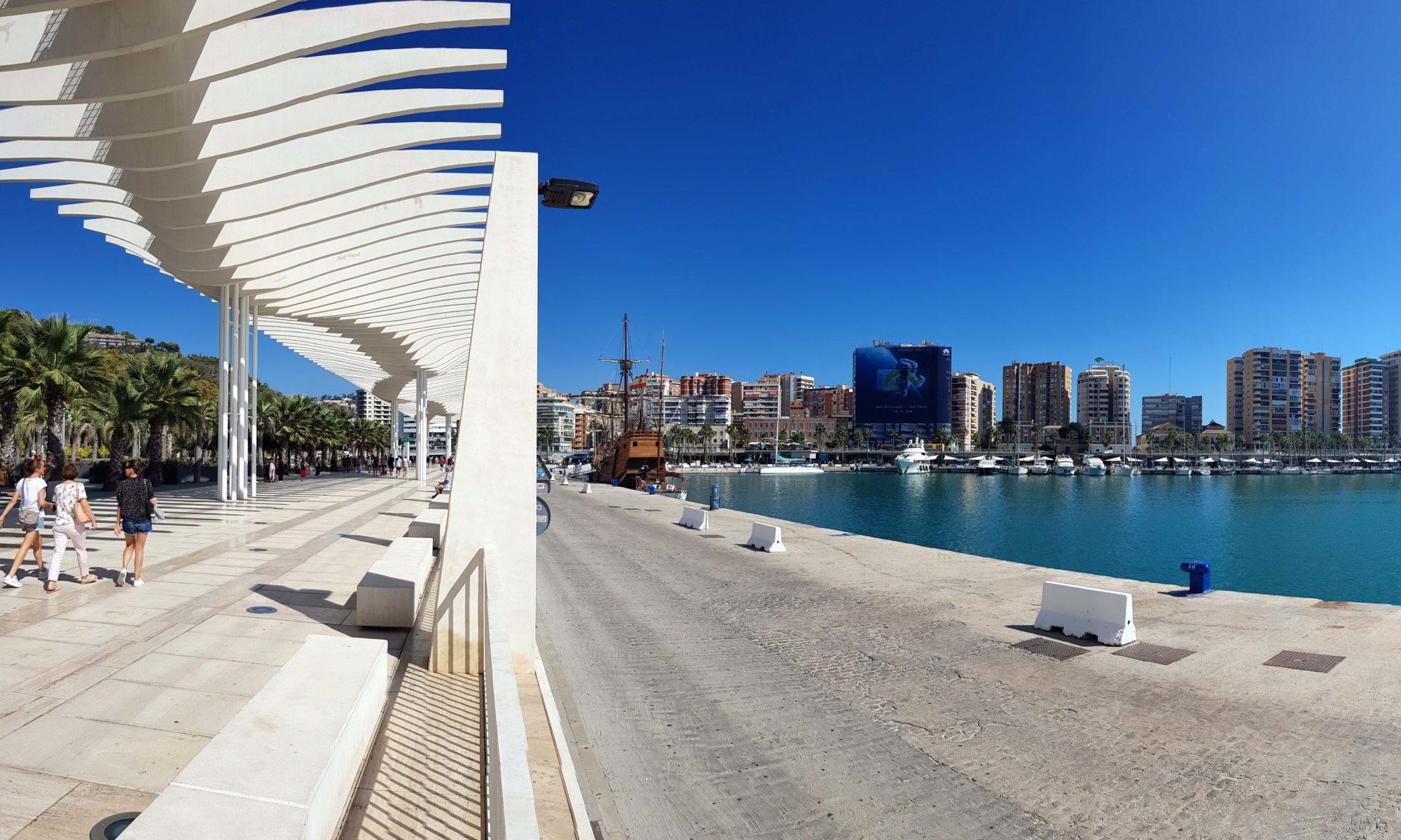 Málaga: Sehenswürdigkeiten & Veganes Essen