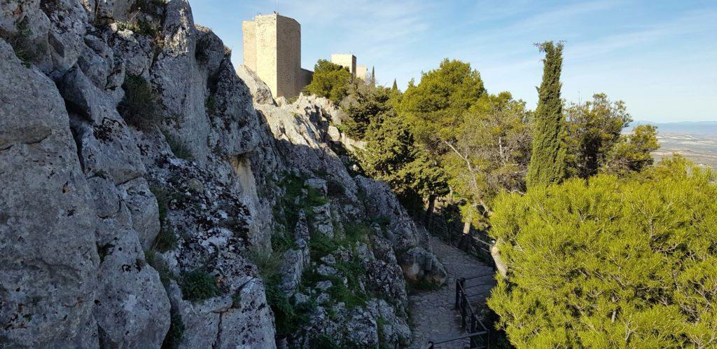 Burg Castillo de Santa Catalina in Jaén