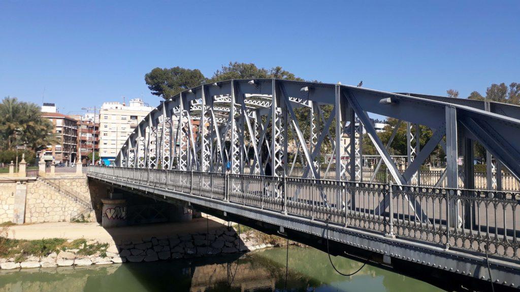 """Puente Nuevo(""""Neue Brücke"""") oderPuente de Hierro (""""Eisenbrücke"""")"""