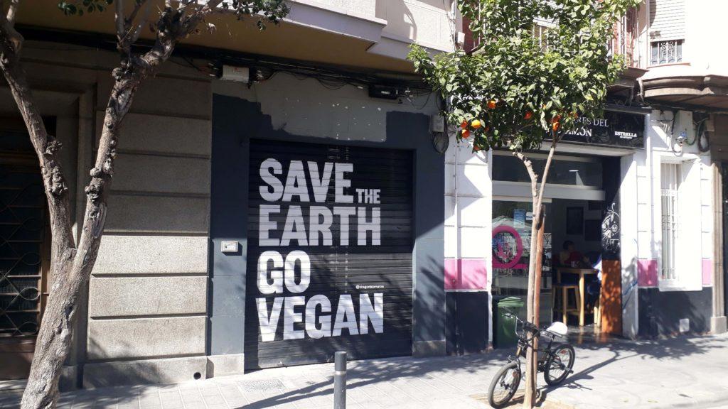 Veganismus ist auch in Murcia nicht unbekannt