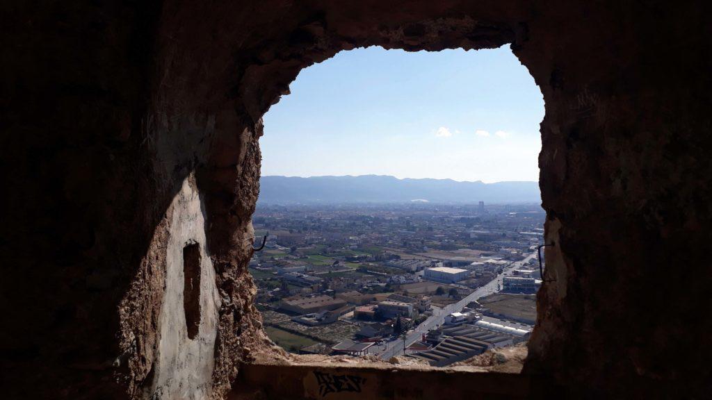 Aussicht vom Castillo de Monteagudo