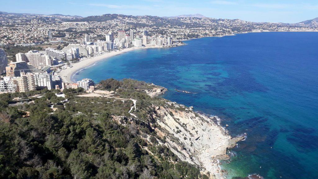 Blick auf den Playa de La Fossa