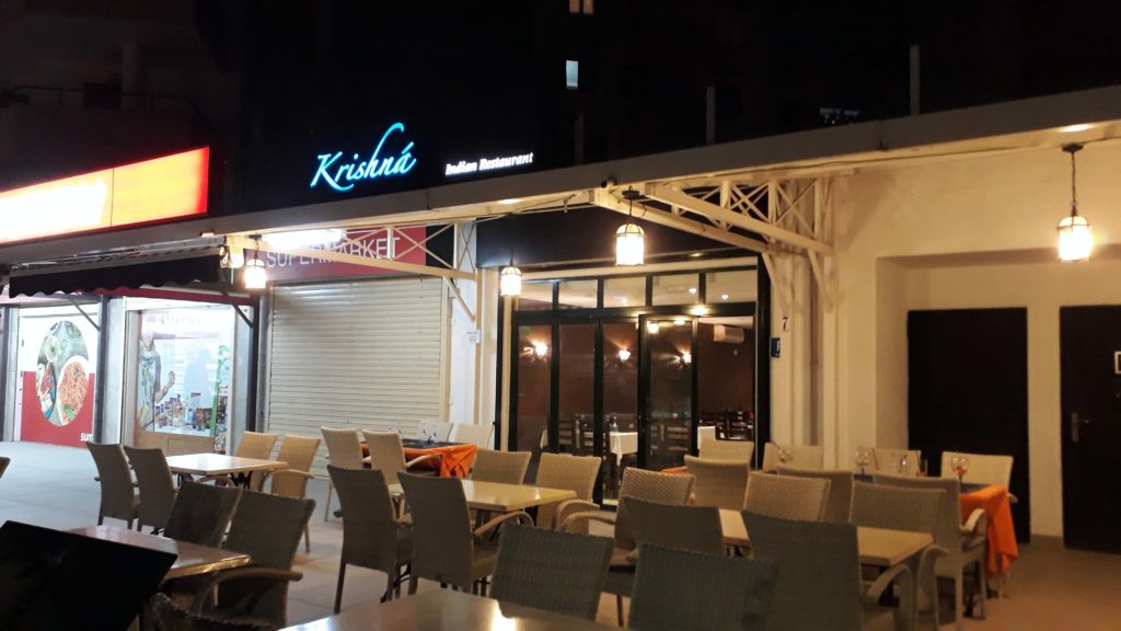 Krishná Indian Restaurant in Santa Ponça, Mallorca
