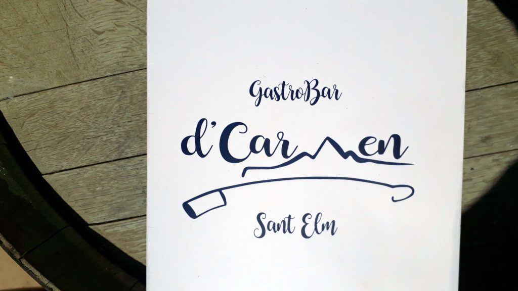 d'Carmen GastroBar in Sant Elm, Mallorca