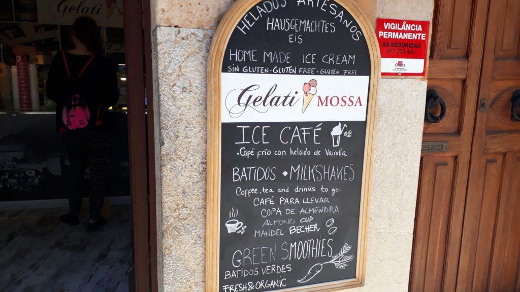 Gelati Mossa in Valldemossa, Mallorca