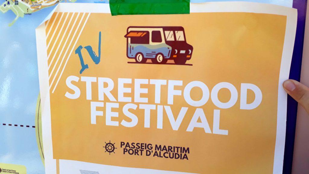 Streetfood-Festival in Port d'Alcúdia, Mallorca