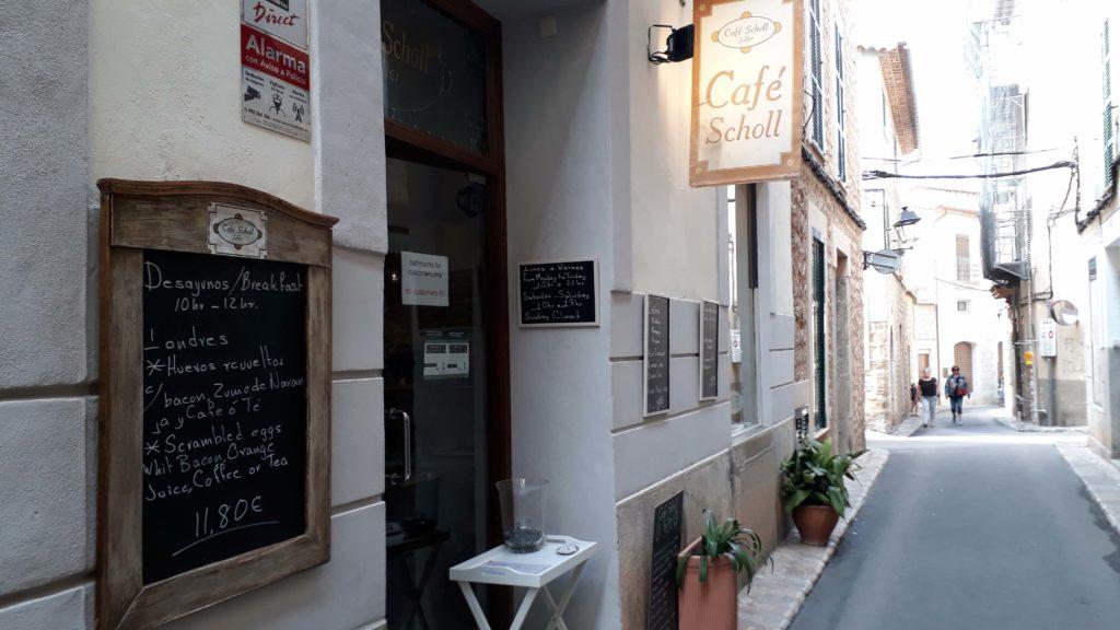 Café Scholl in Sóller, Mallorca