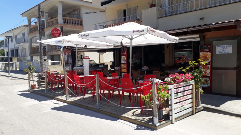 Güep Cafe in Port d'Alcúdia, Mallorca