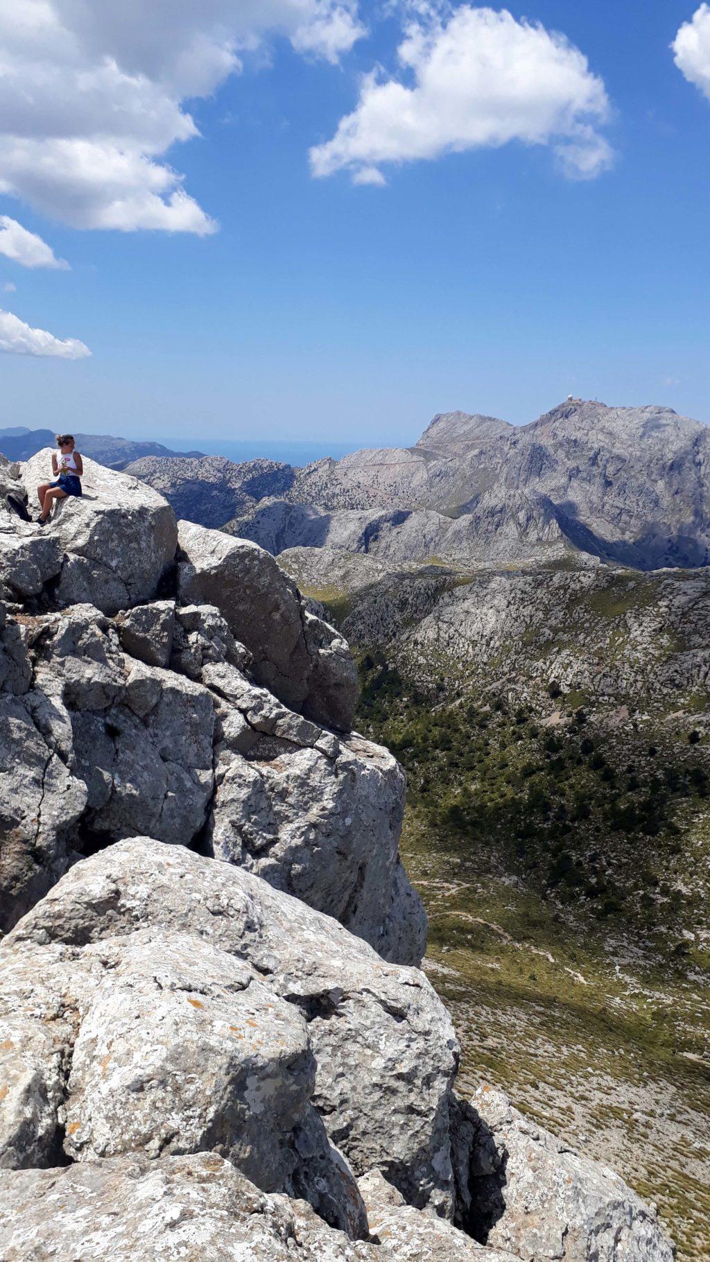 Puig de Massanella im Tramauntana-Gebirge auf Mallorca
