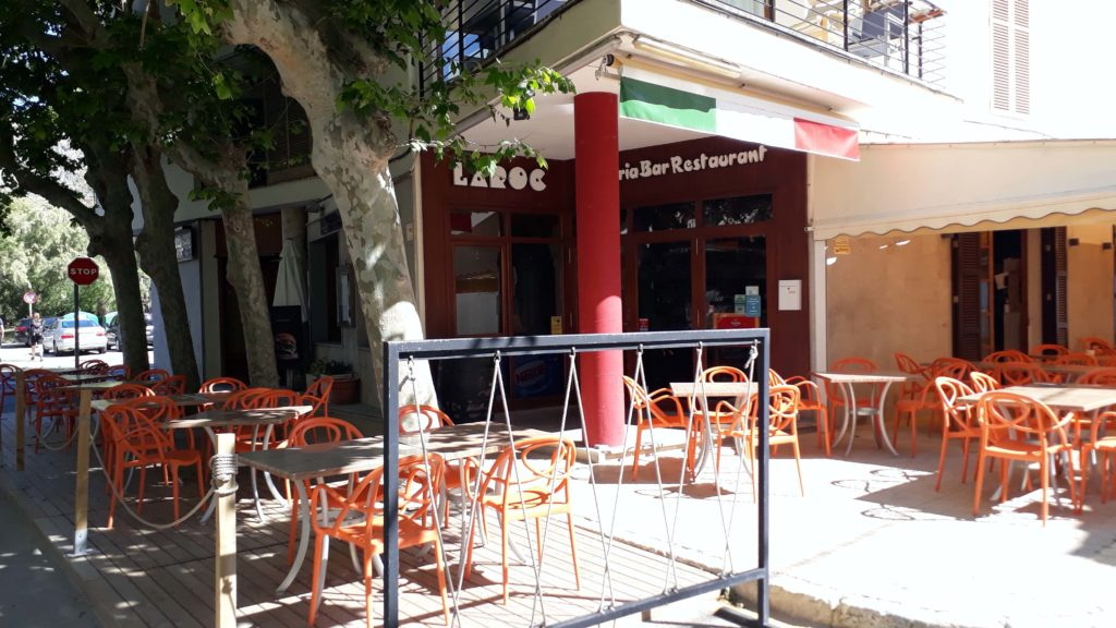 Restaurante Pizzeria Laroc in Port de Pollença, Mallorca