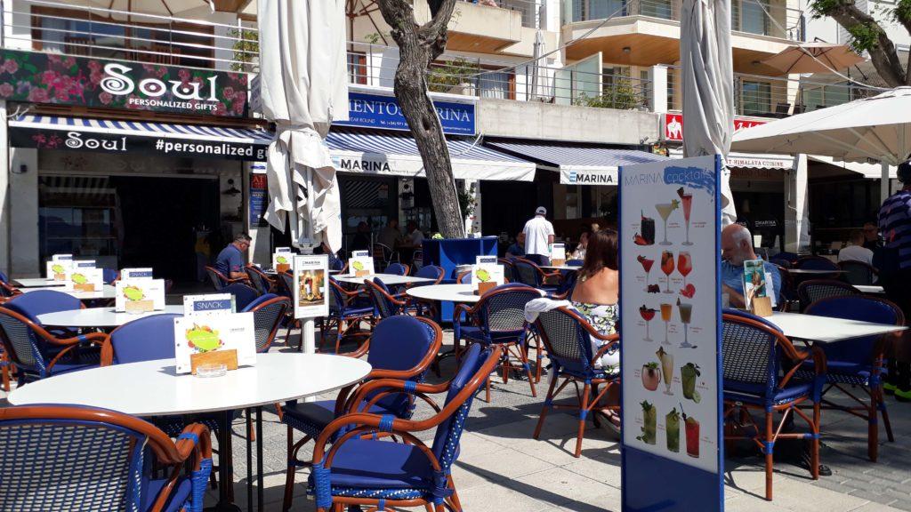 Marina Brasserie & Cocktails in Port de Pollença, Mallorca