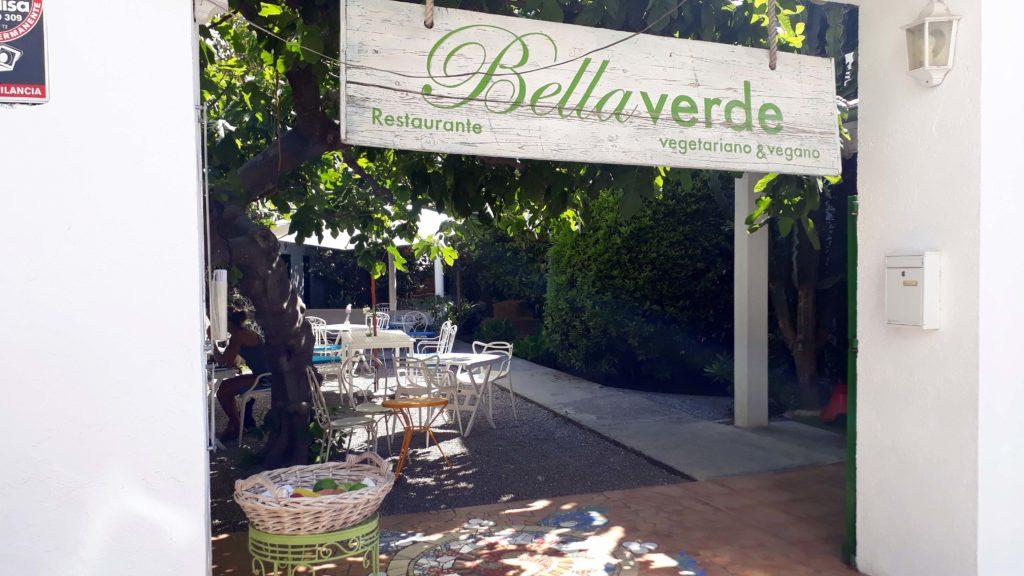 Rein vegetarisches und veganes Restaurant Bellaverde in Port de Pollença, Mallorca