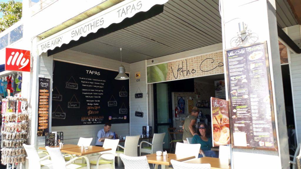 Vitho Café in Port de Pollença, Mallorca