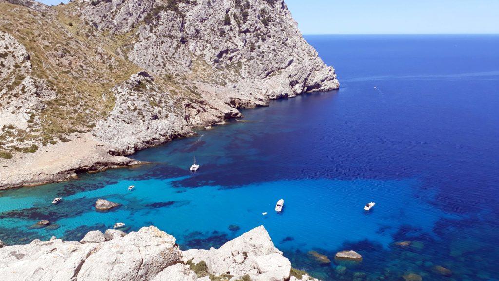 Cala Figuera, eine von vielen schönen Buchten am Cap de Formentor
