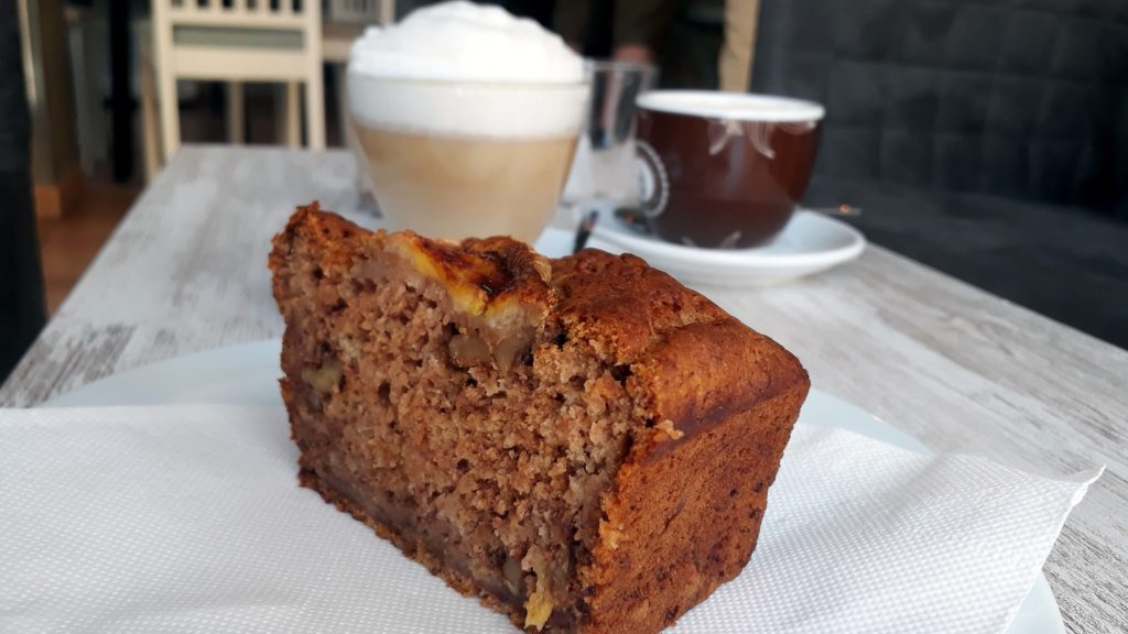 Veganer Kuchen im Tablespoon Bakery Cafe in Inca, Mallorca