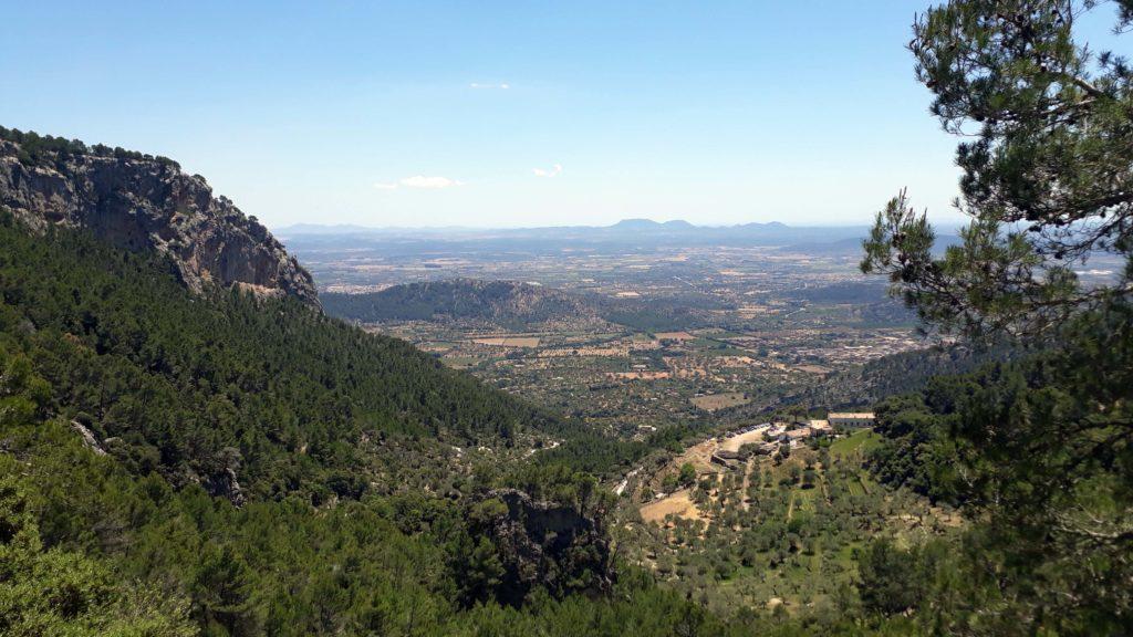 Blick vom Castell d'Alaró